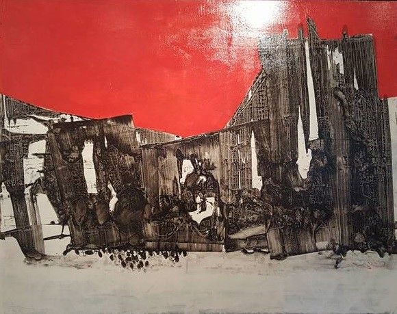 """Nghieng dem"" by artist Nguyen Manh Hung"