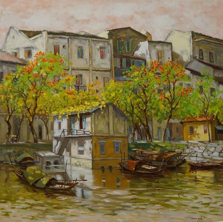 Street By The River