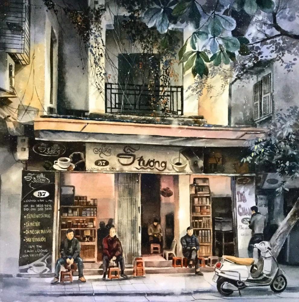 Morning Coffe in Hanoi