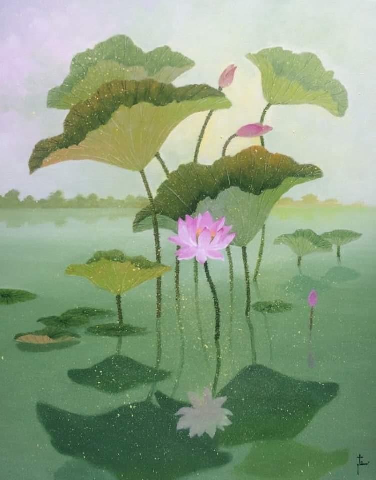 Afternoon Lotus