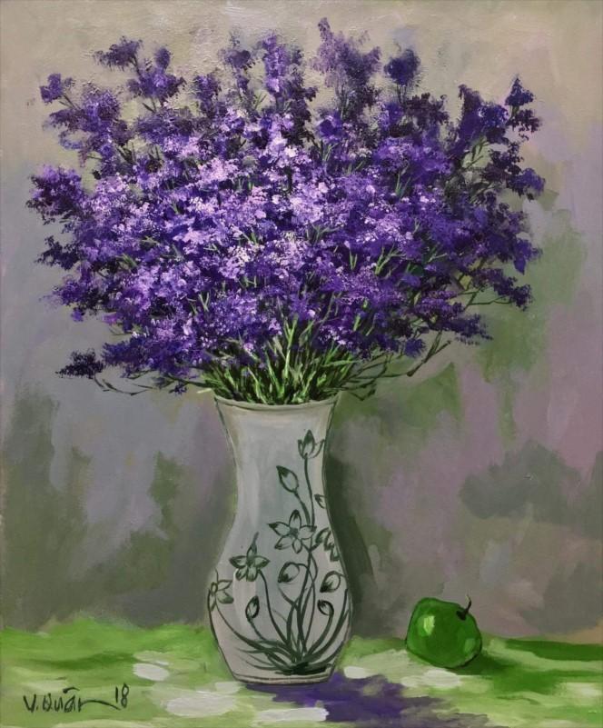 Purple Star Flowers