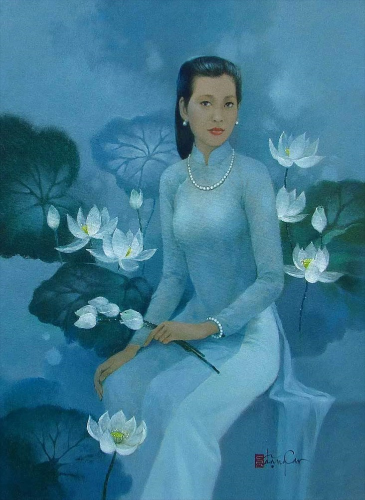 Girl With Lotus Season