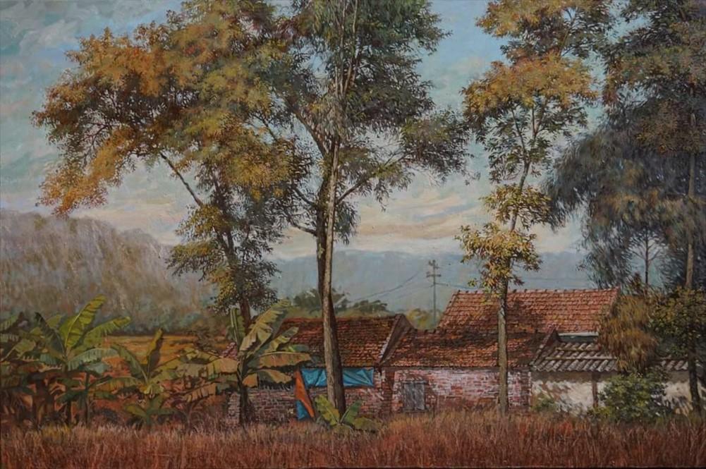 Phong Cảnh Làng Quê